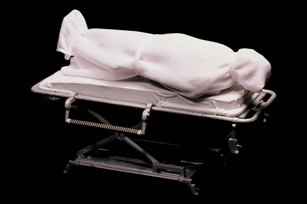 Body in a body bag