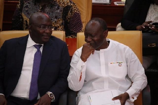 Dr Bawumia and Ken Ofori-Atta