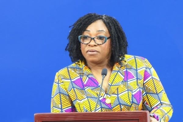 Minister for Foreign Affairs, Shirley Ayorkor Botchway