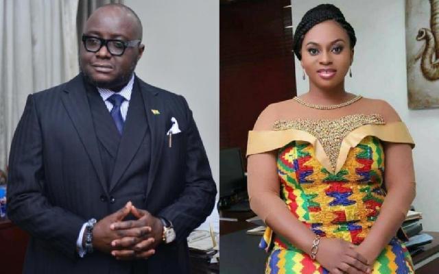 Mike Oquaye Jr. and Adwoa Safo