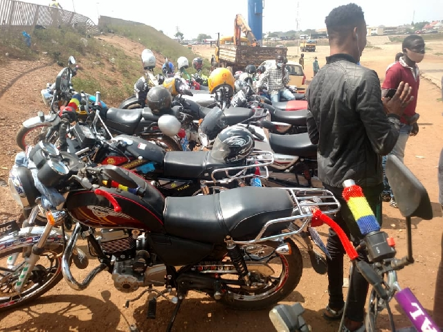 Okada riders have lauded Mahama's promise to legalise their operations