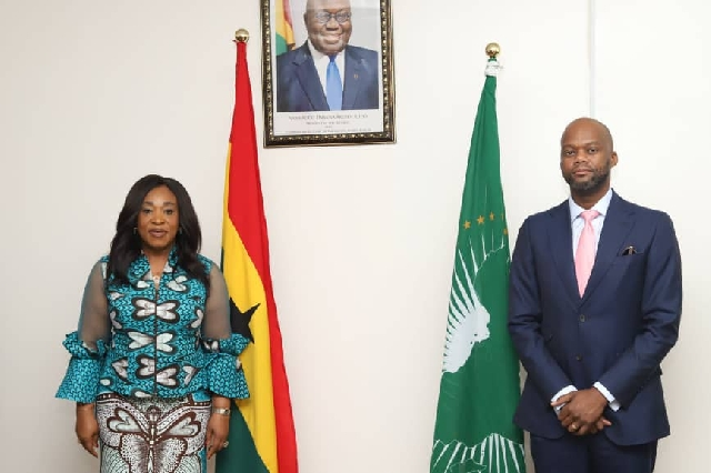 Shirley Ayorkor Botchway, has assured the Secretary-General of the AfCFTA, of the full support of the government of Ghana