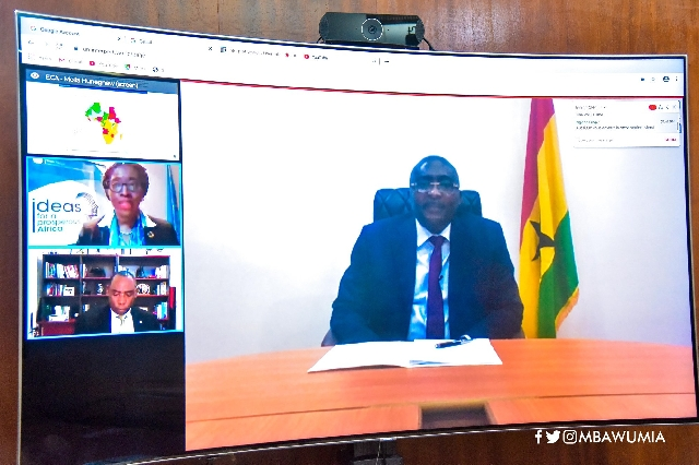 Bawumia launched it in a virtual meeting