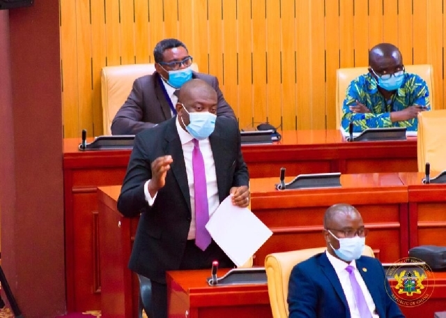 Mr Oppong Nkrumah referred to the opposition lawmaker as 'Papa no' during a debate