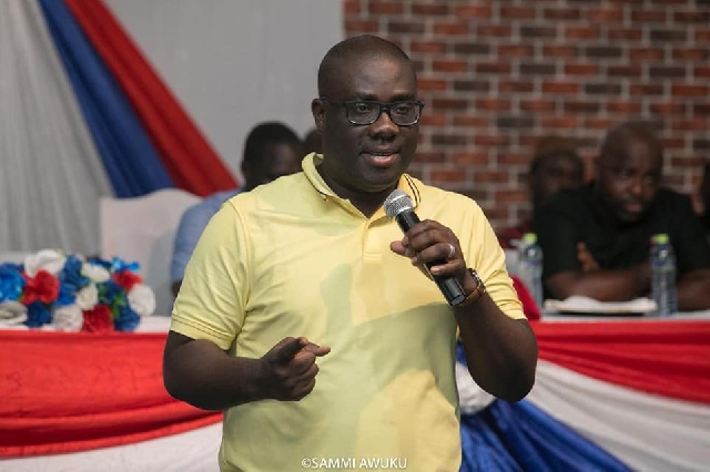 National Organiser of the governing New Patriotic Party, Sammi Awuku