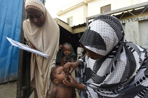 Polio can only be prevented through immunisation