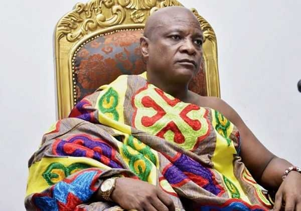 President of the National House of Chiefs Togbe Afede
