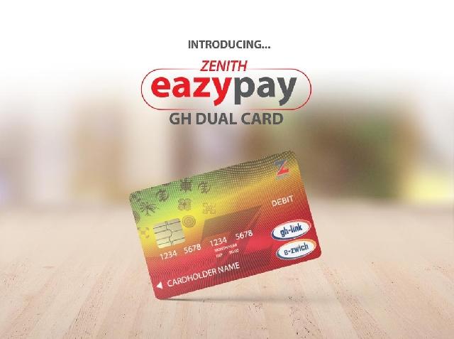 Zenith Bank's eazypay card