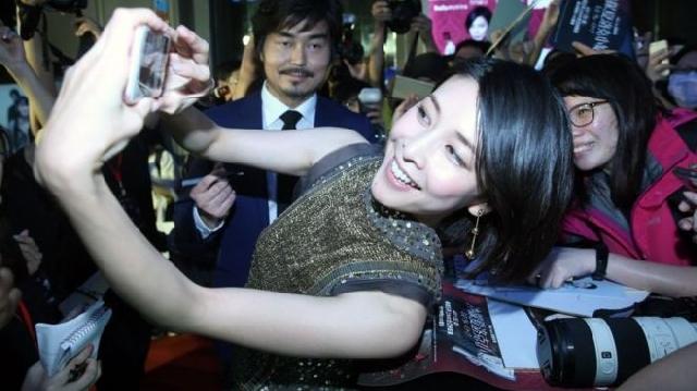 Actress Yuko Takeuchi