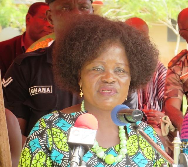Krachi West MP Helen Adjoa Ntoso
