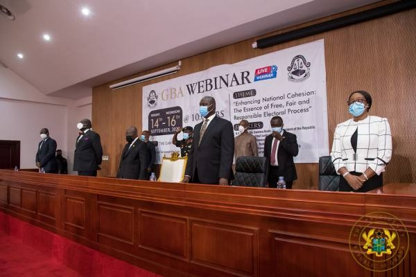 Nana Akufo-Addo at GBA webinar