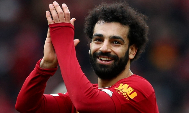 Mo Salah scored a hat trick in the Premier League opener today