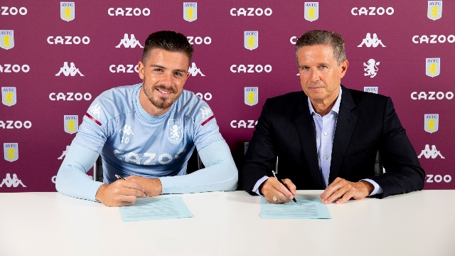 Grealish signs new five-year deal with Aston Villa