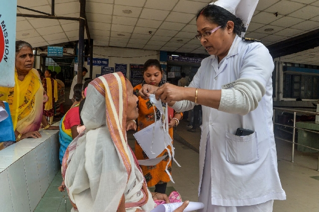 Indian doctors fighting coronavirus