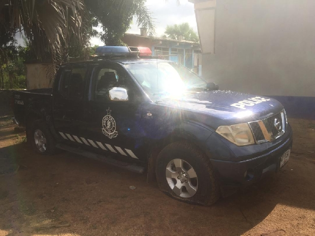 The vehicles and gun were retrieved on the night of Saturday