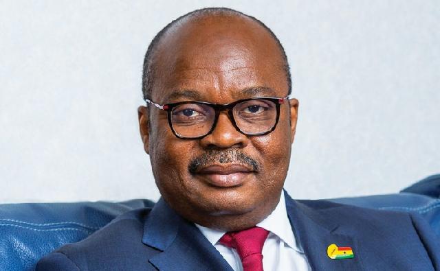 Governor of the Bank of Ghana (BoG), Dr Ernest Addison