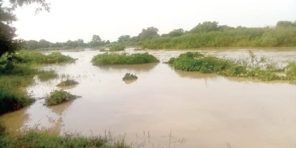 A heavy downpour in the area has further worsened the plight of residents