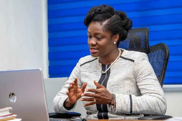 CEO of NBSSI, Mrs Kosi Yankey-Ayeh