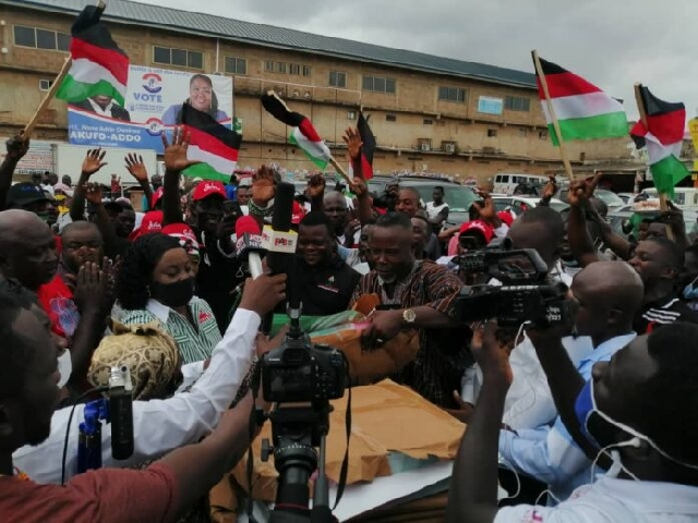 NDC campaign has heated up