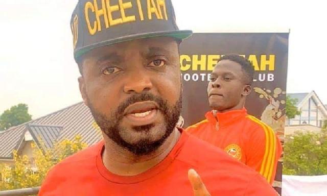 President of Cheetah FC, Hayye Yartey