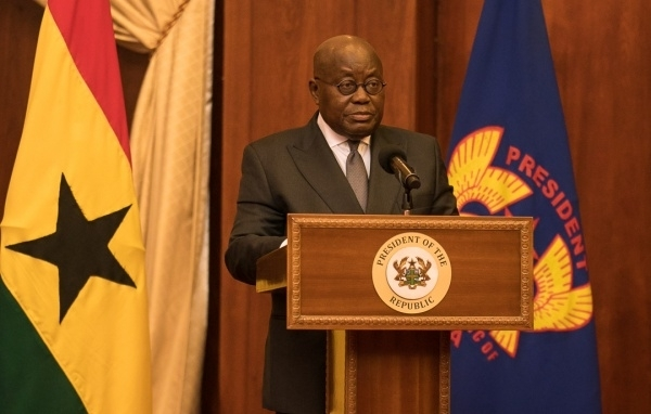 President Akufo-Addo will address the nation the 17th time