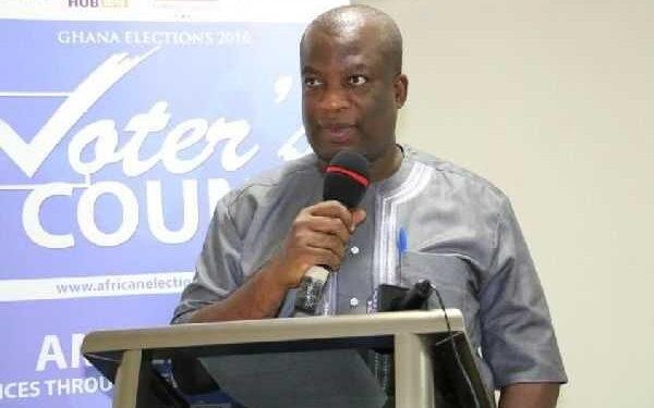 Dr Serebour Quaicoe, Director of Electoral Services at the EC