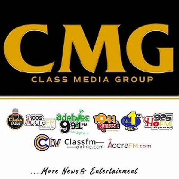 CMG is made up of Class91.3FM, Accra100.5FM, Kumasi104.1 FM, No1 105.3FM, Ho 92.5FM, Adehye FM, Dagbon FM, Sunyani FM, Taadi FM, CTV and classfmonline.com.