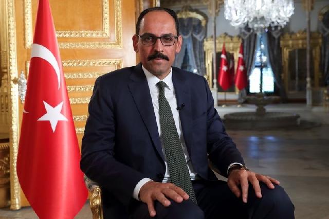 President Tayyip Erdogan's spokesman