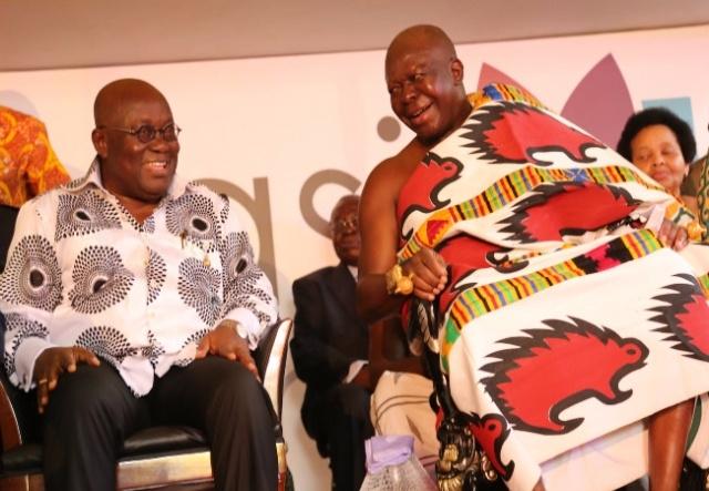 President Akufo-Addo and Otumfuo