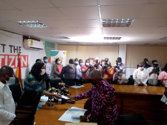 Nana Akufo-Addo and Jane Mensa