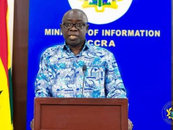 Minister for Lands and Natural Resources Kwaku Asomah-Cheremeh