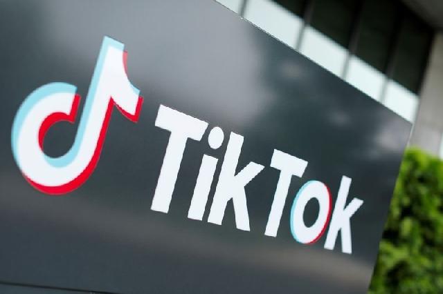 The logo of Tik Tok