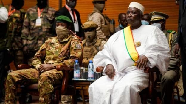 Mali's president, Bah Ndaw