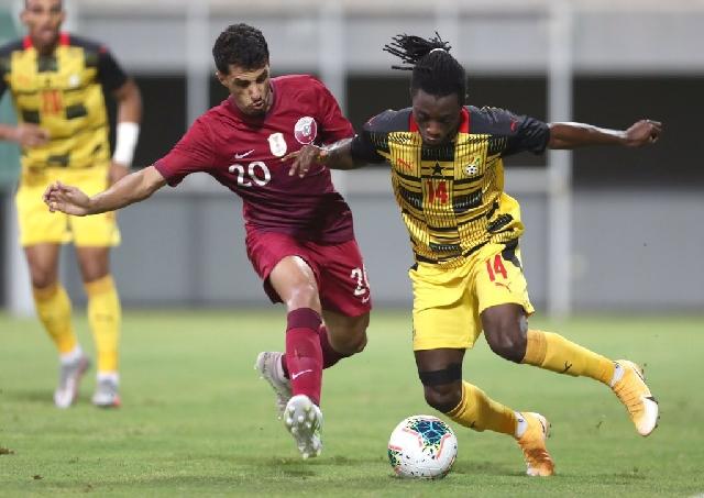 Black Stars scored 5:1 against Qatar