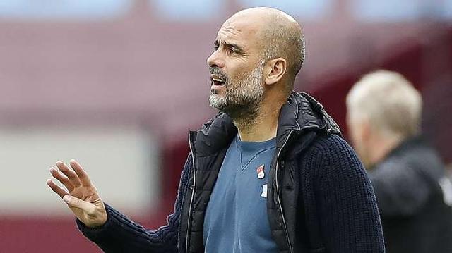 Man City coach Pep Guardiola