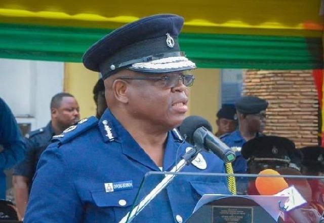 Inspector-General of Police, James Oppong-Bonuah
