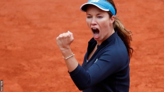 World number 57 Danielle Collins has reached her first French Open quarter-final