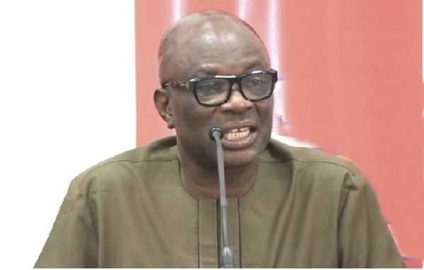 GUTA President, Dr Joseph Obeng