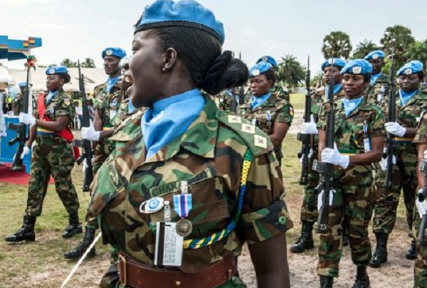 Ghana has achieved the United Nation's (UN) target of 15 per cent deployment of women to peacekeeping missions