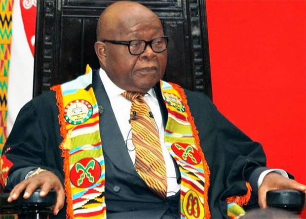 Speaker of Parliament, Prof Aaron Mike Oquaye