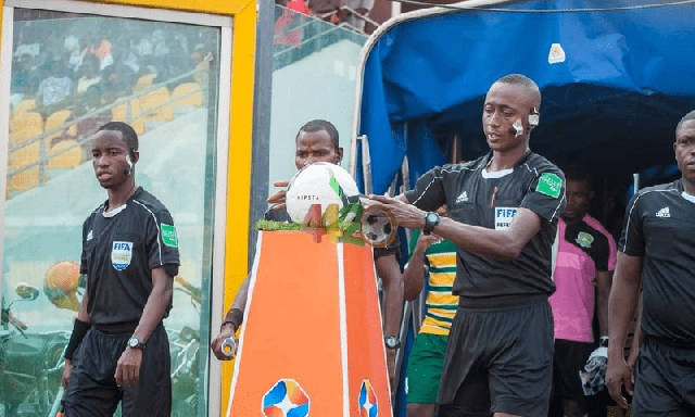 Ghanaian referees
