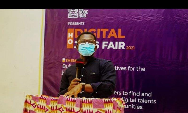 Ho Node Hub holds second Digital Jobs Fair